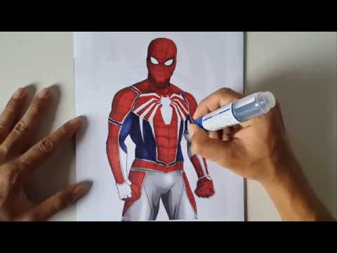SPIDER-MAN PS4 BIG GUY | Spider-Man Coloring Pages ...