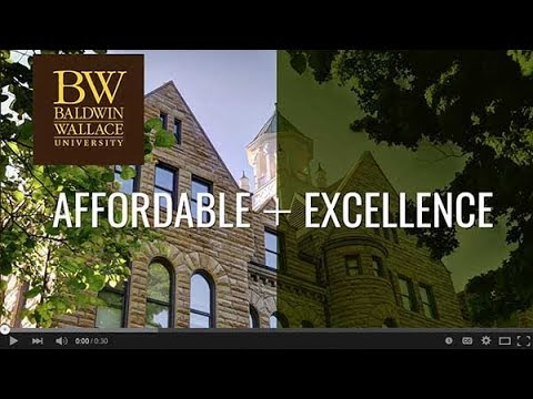Baldwin Wallace University Affordable Excellence
