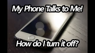 Fix: My Android Phone is Talking to Me   How to Stop TalkBack & Voice Assistant
