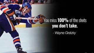 10 Brilliant Hockey Quotes By Wayne Gretzky - The Great One