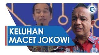 Jokowi Keluhkan Jakarta Macet, Anies Baswedan: Jakarta Alami Penurunan Kemacetan