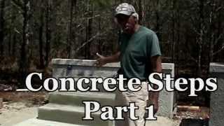 How To Build Concrete Block Steps (Video Tutorial)