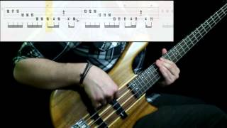 Red Hot Chili Peppers   Dark Necessities (Bass Cover) (Play Along Tabs In Video)