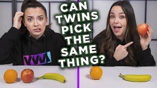 REAL TWIN TELEPATHY TEST - Merrell Twins
