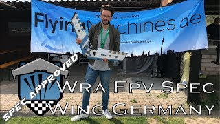 WRA FPV | Spec Wing Race | Germany | FINALE | Movie | DVR