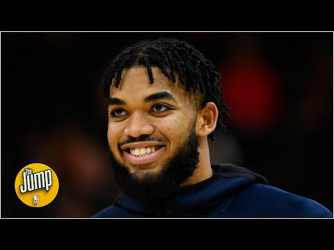 Wait, Karl-Anthony Towns set the Wolves' 3-pointers record already?! | The Jump