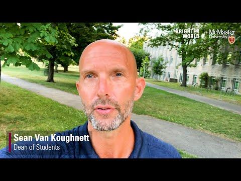 Watch A message from Sean Van Koughnett, Dean of Students (2020) on Youtube.