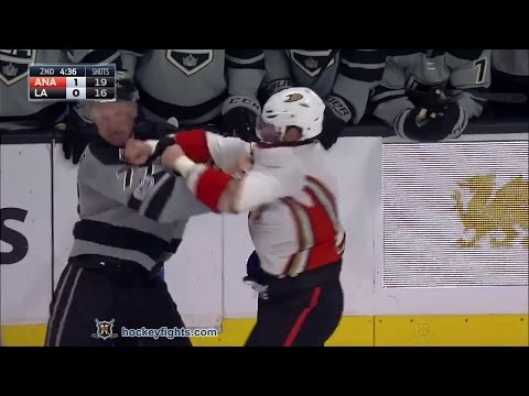 Jeff Carter vs. Ryan Kesler