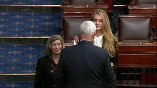 Kelly Loeffler, new Georgia GOP senator, sworn in