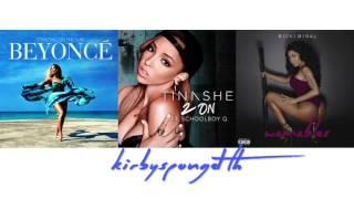 Beyoncé vs. Nicki Minaj vs. Tinashe - Wamables On The Sun (2 On Remix) [Mashup]