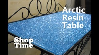 Arctic Resin Table - Video Youtube