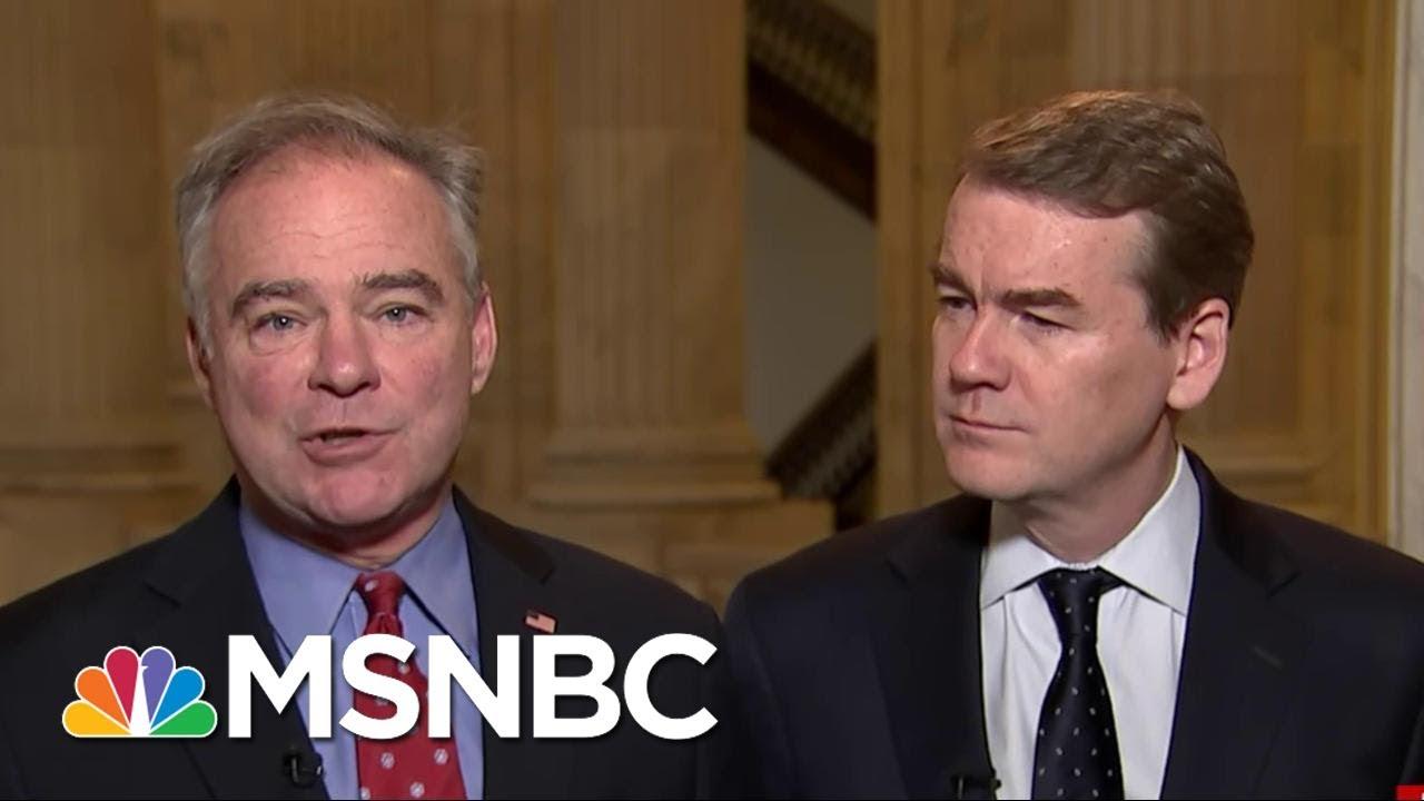 Senators Tim Kaine And Michael Bennet Make Case For A Public Option For ACA | Morning Joe | MSNBC thumbnail