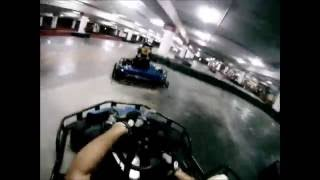 preview picture of video 'gopro at gokart'