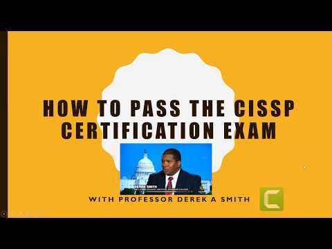 How to Pass the 2018 CISSP exam: A Sure Fire Method to Help You ...