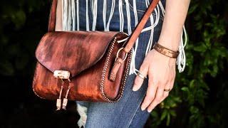Simple Leather Bag   Leatherworking