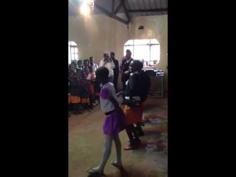 Kenyan dance off