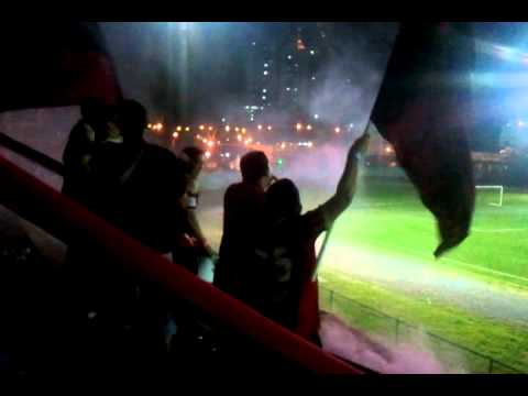 """Barra Académica - 4ta fecha Apertura LPF (Vs Chepo FC / Estadio Javier Cruz) 07/08/2012"" Barra: Barra Academica • Club: Sporting San Miguelito"