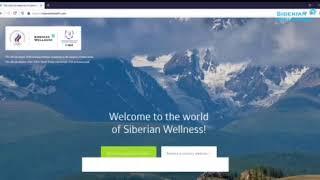 Hướng dẫn đăng ký mới đại diện thương hiệu Siberian Wellness – Online