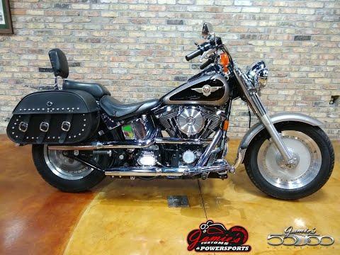 1997 Harley-Davidson Fatboy in Big Bend, Wisconsin - Video 1