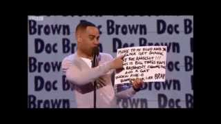 Doc brown on Russell howard's good news
