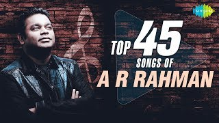 TOP 45 Songs of A.R. Rahman | One Stop Jukebox | S.P.Balasubrahmanyam, Hariharan | Telugu | HD Songs