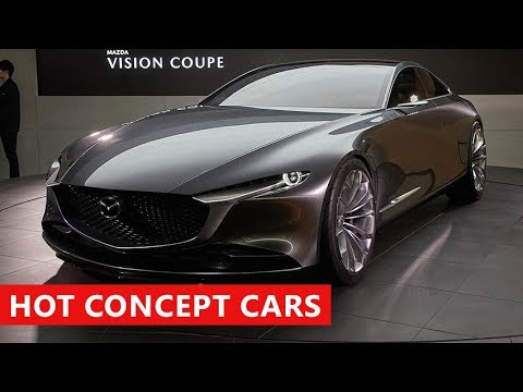10 New Amazing Cars Debut At Tokyo Motor Show 2017. Best Concept Cars Coming In 2018