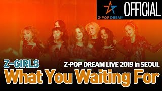 [Stage] Z-Girls 'What You Waiting For' @Z-POP Dream Live 2019 in SEOUL