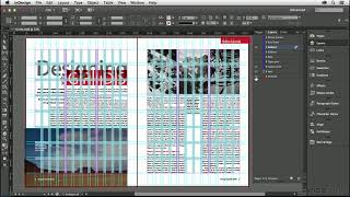 InDesign Tutorial: The Parts Of A Grid | Lynda.com