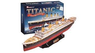 CubicFun 3D Puzzle Titanic T4011h