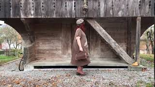 Dress Quanah Parker In Umber From Magnolia Pearl At Boho-chic Clothing