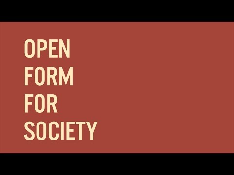 CHRISTIAN LILLINGERs Open Form For Society