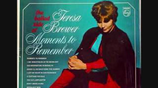 Teresa Brewer - Moments to Remember (1963)