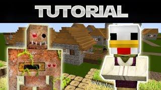 Minecraft NPCDorfbewohner Umsiedeln Und Neues Dorf Erschaffen HD - Minecraft hauser dorfbewohner