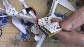 Akkuwechsel Problem bei Drohne JAMARA CYANos ALTITUDE Kompass Quadrocopter Drone