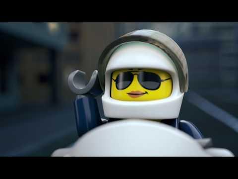 Vidéo LEGO City 60208 : L'arrestation en parachute
