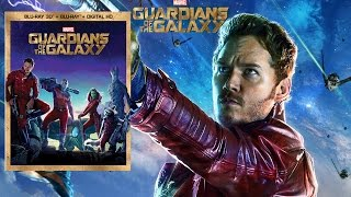 Guardians of the Galaxy BLU-RAY 3D Unboxing and Giveaway!