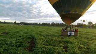 This video is of the Raging Thunder Hot Air Ballooning tour from Cairns.