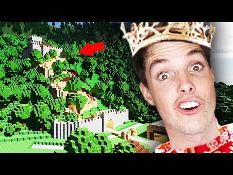 IDIOT BUILDS MOUNTAIN KINGDOM! - Colony Survival