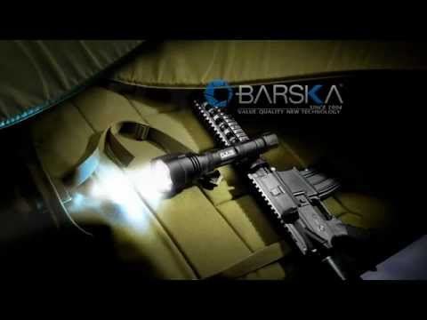 1200 Lumen High Power Tactical Flashlight by Barska: BA11630