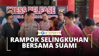 Wanita Rampok Selingkuhan Bersama Suami Siri, Pura-pura Gerebek saat Bermesraan