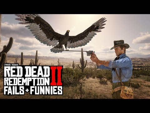 Red Dead Redemption 2 - Fails & Funnies #96