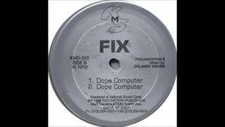 """DISC SPOTLIGHT: """"Dope Computer"""" by Fix (1992)"""