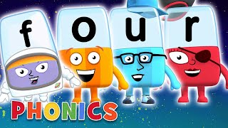 Phonics - Learn to Read   Four Letter Words   Alphablocks