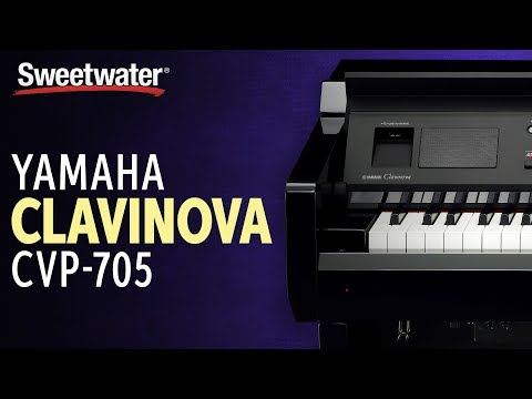 Yamaha Clavinova CVP-705 Digital Piano Review