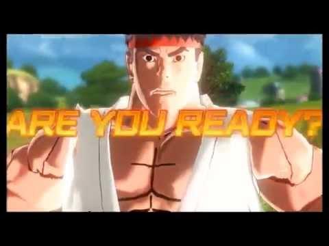 Dragon Ball Xenoverse (PC): Ryu Vs. Ken Gameplay [MOD]