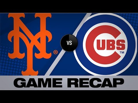 Baez's 100th homer powers Cubs past Mets | Mets-Cubs Game Highlights 6/23/19