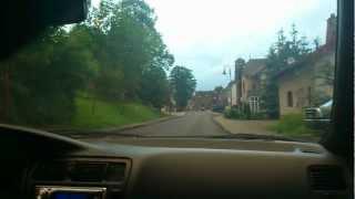 preview picture of video 'CarCam: Fahren in Rheinland-Pfalz'