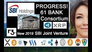 SBI R3 New Joint Venture 2019, Japan 61 Bank Consortium Ripplenet Ready for XRP