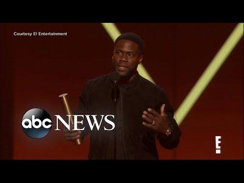 Kevin Hart makes comeback at People's Choice Awards | ABC News (видео)