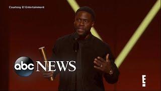 Kevin Hart makes comeback at People's Choice Awards | ABC News